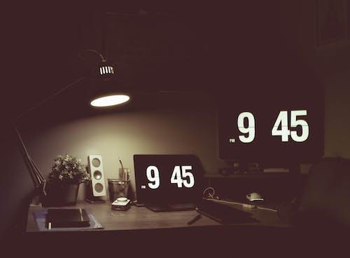 Imagine de stoc gratuită din aspect, birou, ceas cu alarmă, ceas deșteptător
