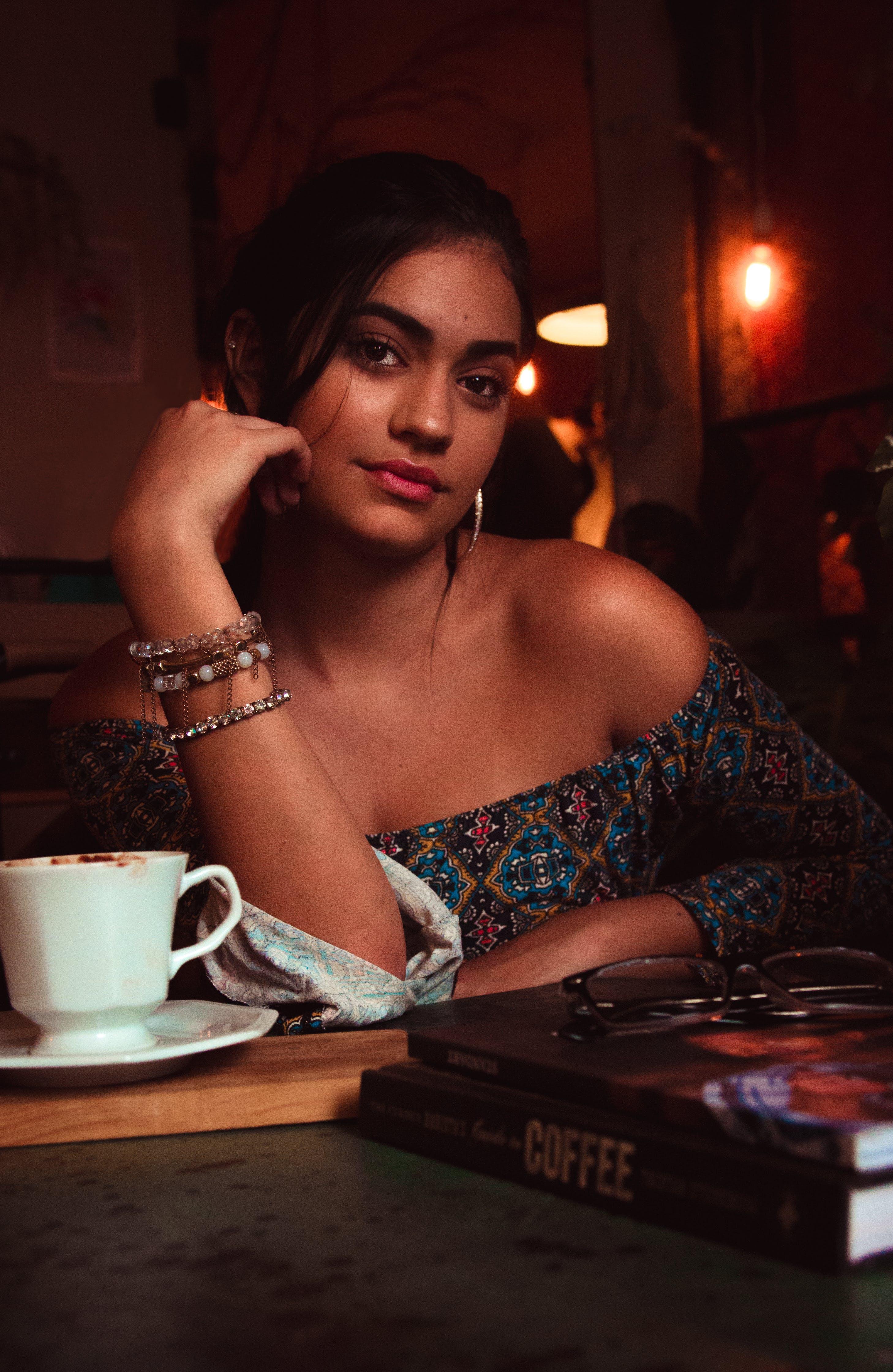 books, coffee, coffee shop