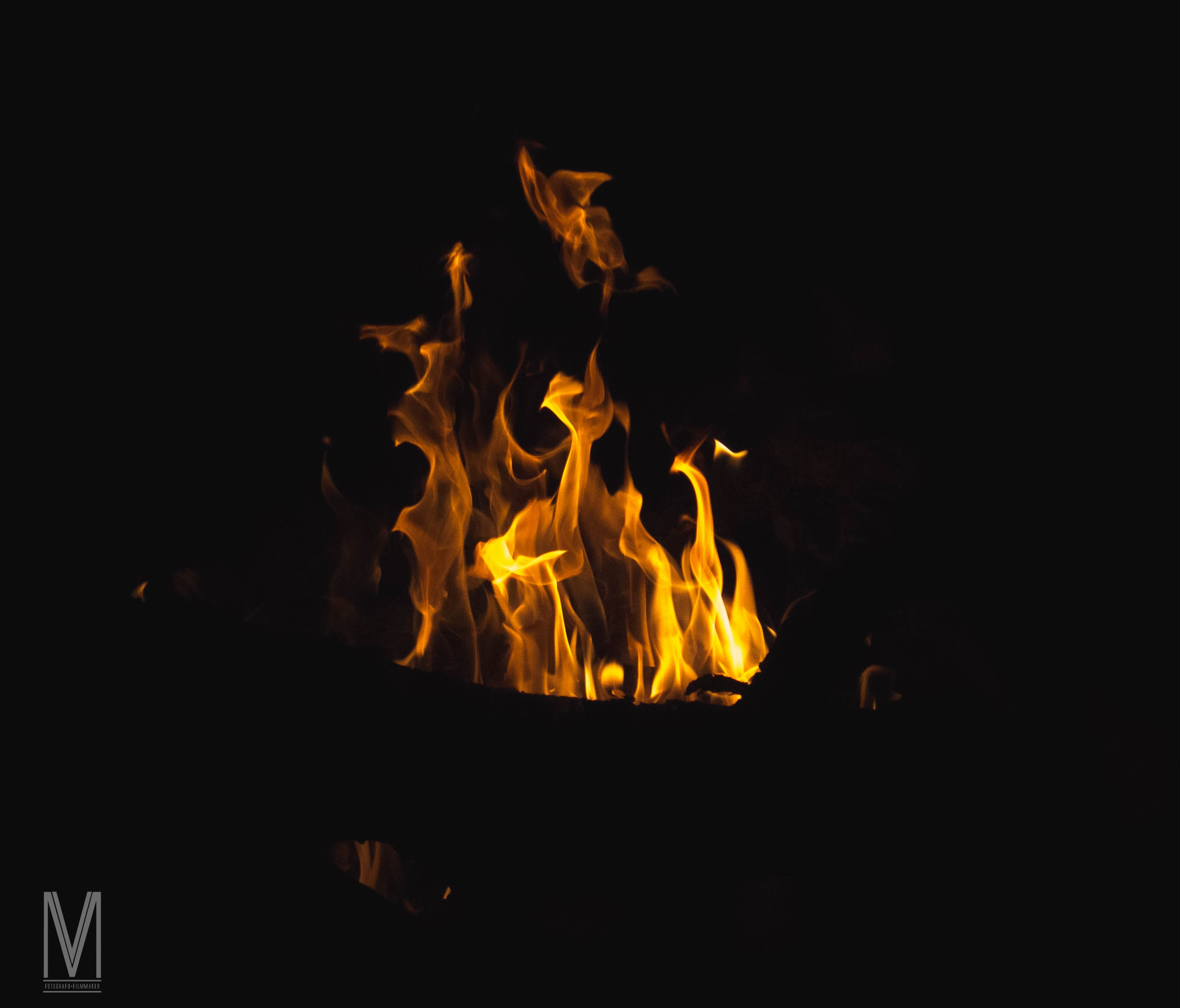 Free stock photo of campfire, dark