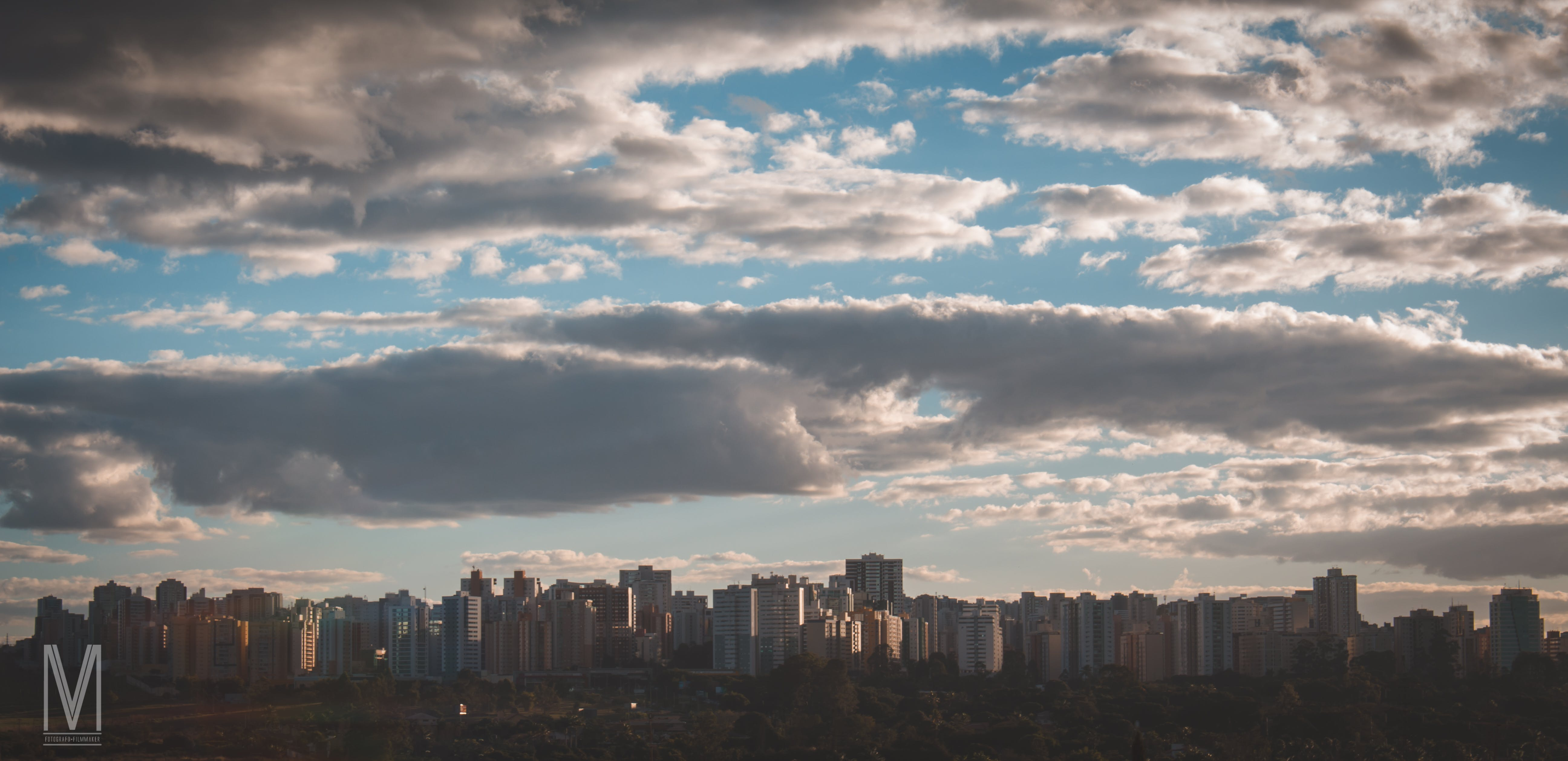 Free stock photo of cloudy sky, residential buildings