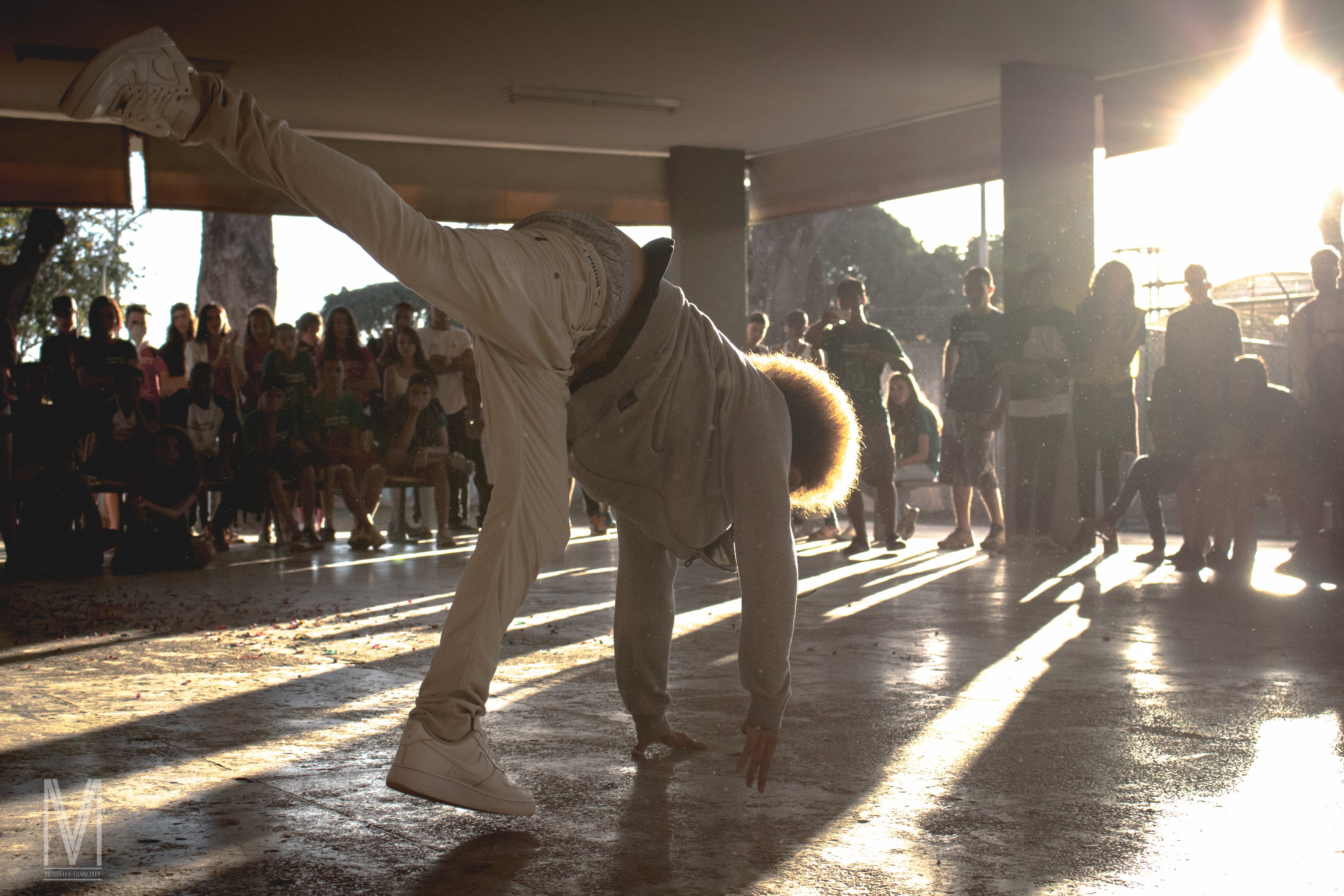 Free stock photo of dancing, young man, sun flare