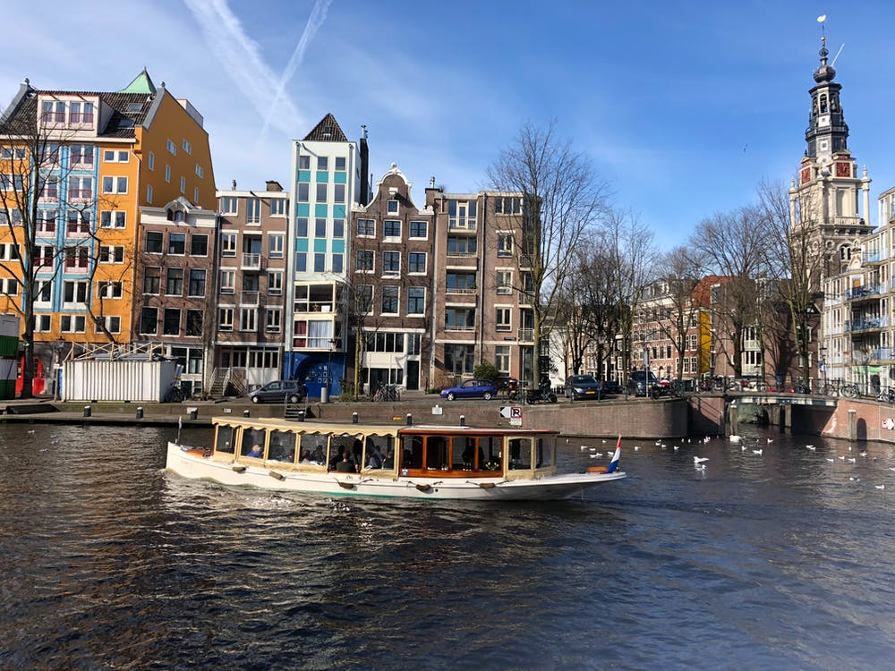 Free stock photo of amsterdam, chanel, europe