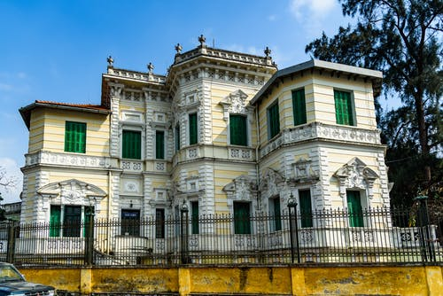 Foto stok gratis antik, Arsitektur, besi tempa, eksterior
