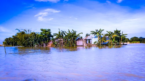 Free stock photo of bangladesh, Bangladeshi Flood, blue water, blue waters