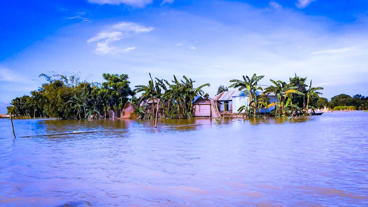 bangladesh, Bangladeshi Flood, blue water
