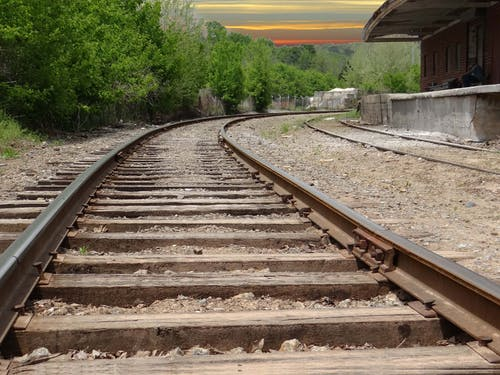 列車, 線路, 鉄道の無料の写真素材