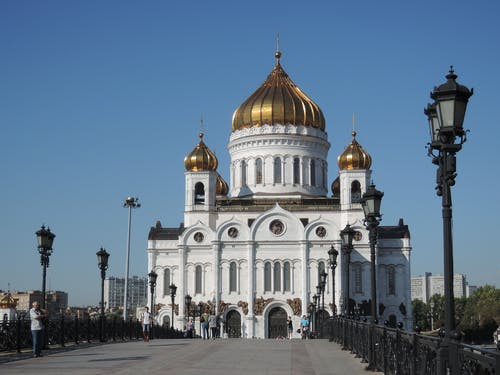 Free stock photo of cathedral, moscow, orthodox
