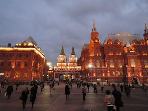 Δωρεάν στοκ φωτογραφιών με Άνθρωποι, κόκκινη πλατεία, κτήρια, Μόσχα