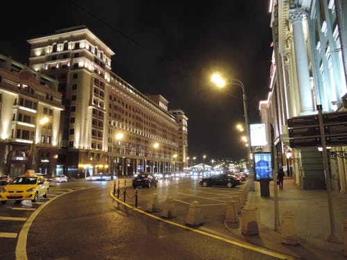 Free stock photo of city at night, city in the night, moscow