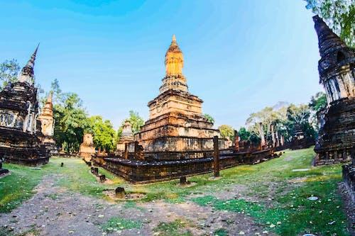 Fotobanka sbezplatnými fotkami na tému architektúra, Ázia, ázijský, budhista