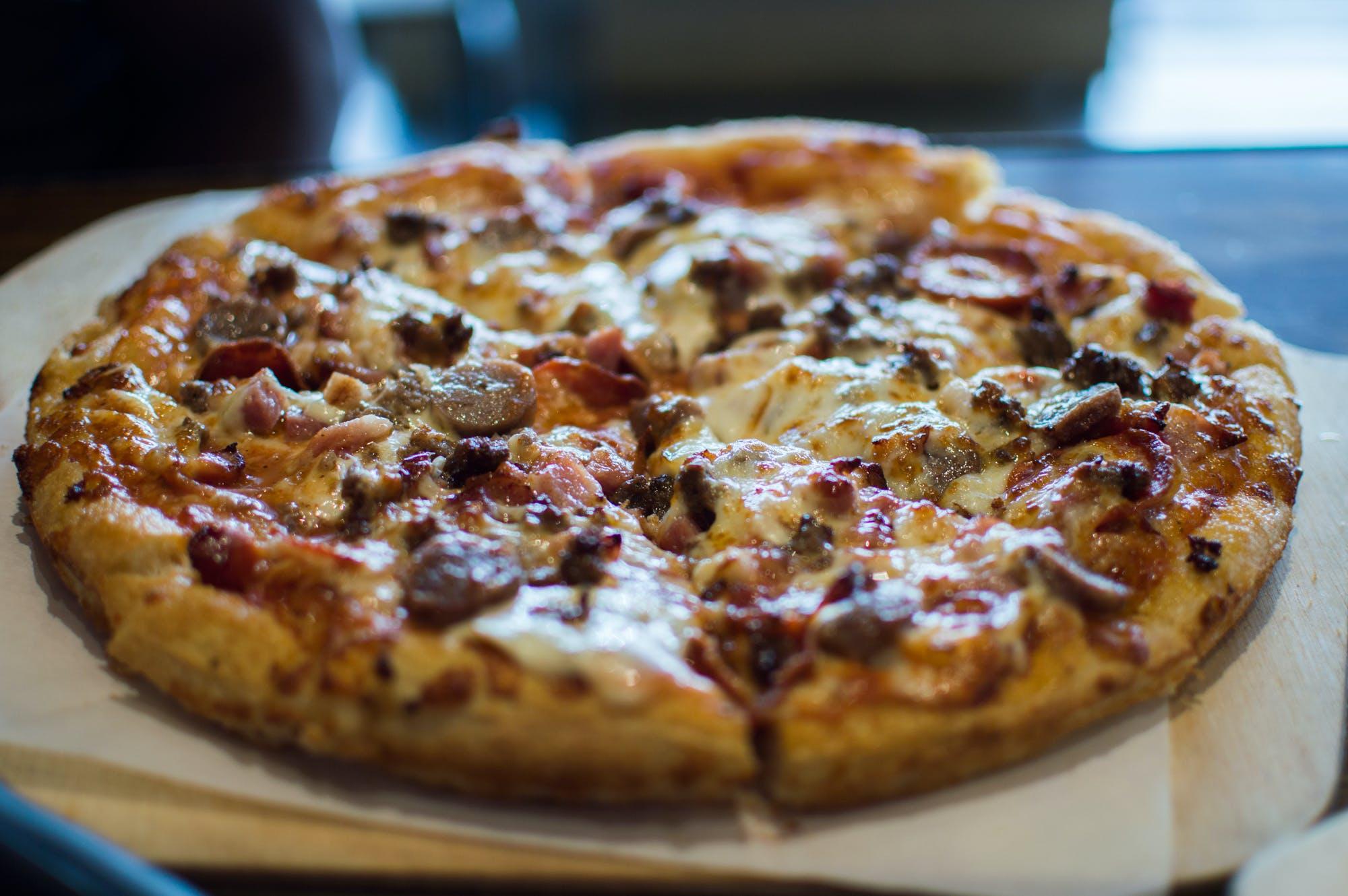 Darmowe zdjęcie z galerii z jedzenie, pizza
