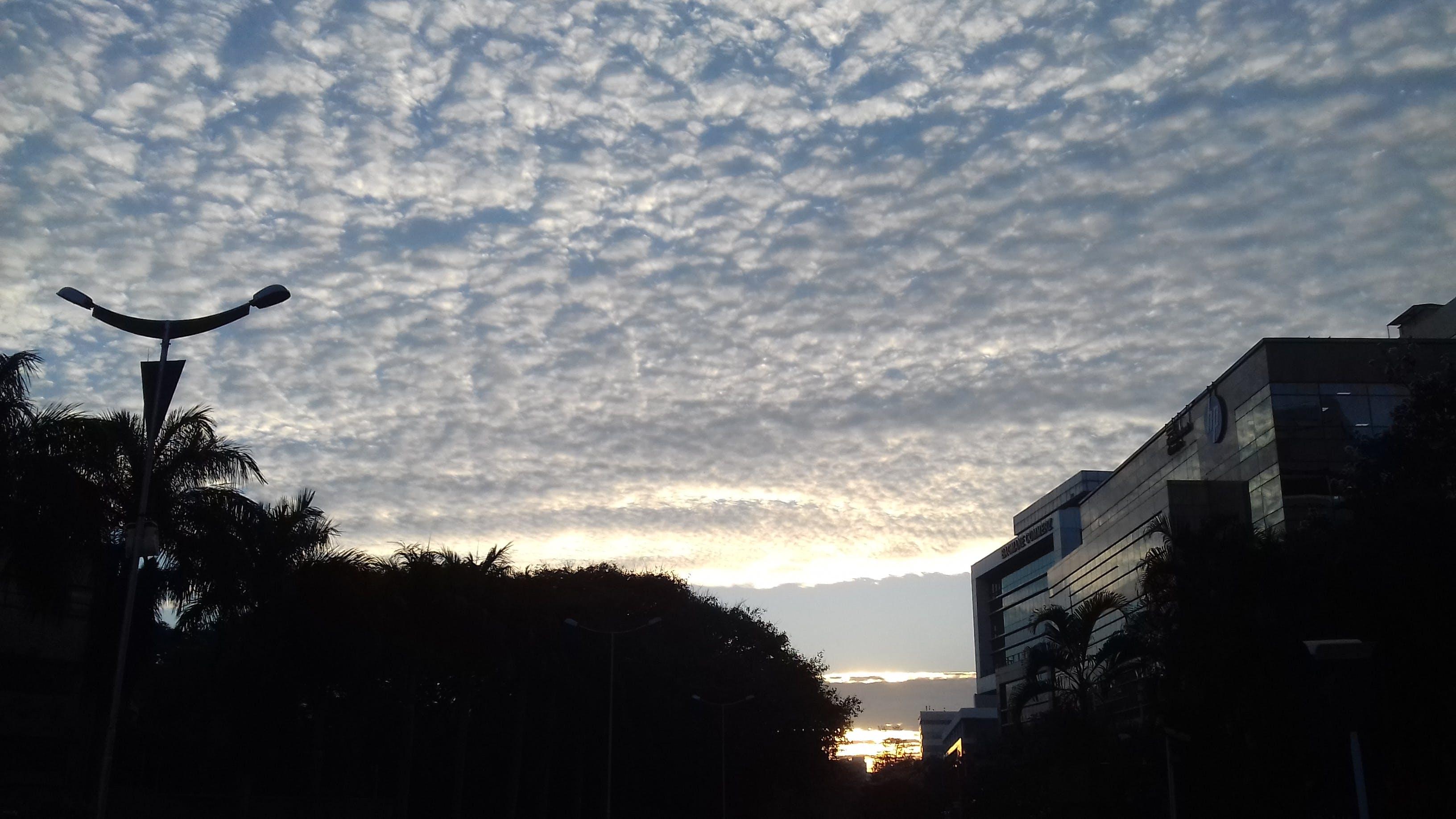 Free stock photo of Good Morning, sky blue