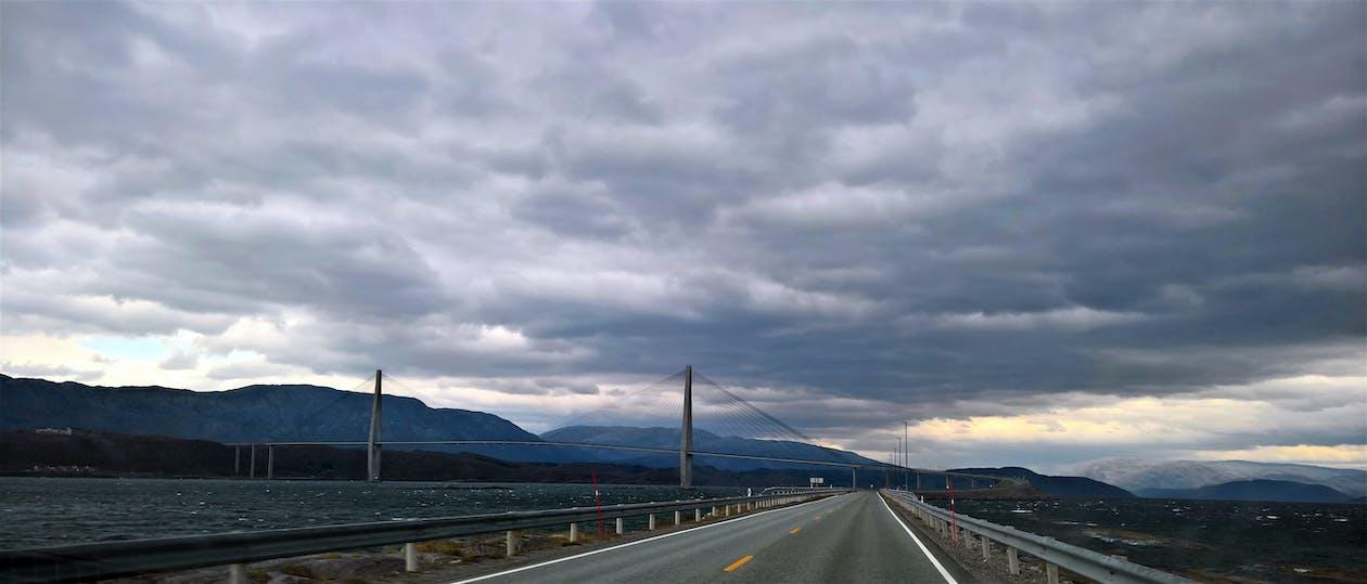 asfalt, autostrada, bruk