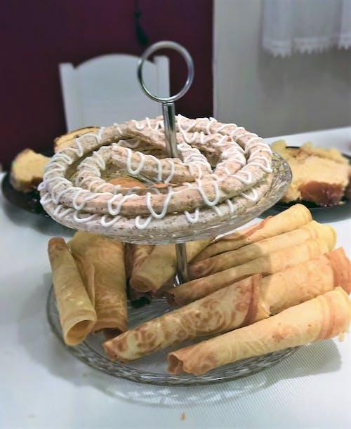 Δωρεάν στοκ φωτογραφιών με kransekake, krumkaker, Νορβηγία, νορβηγικό παραδοσιακό φαγητό