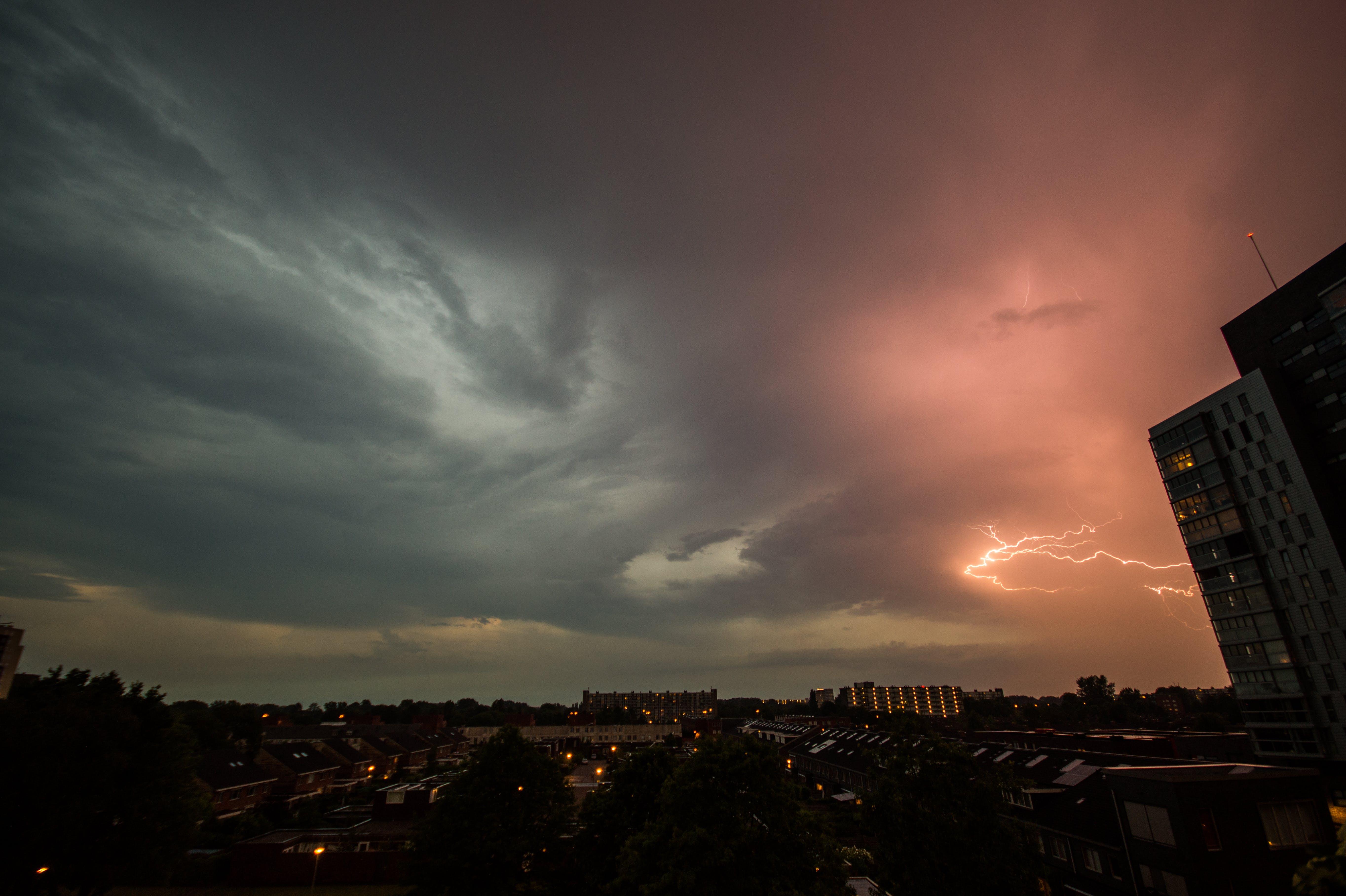 Free stock photo of city, sky, weather, groningen