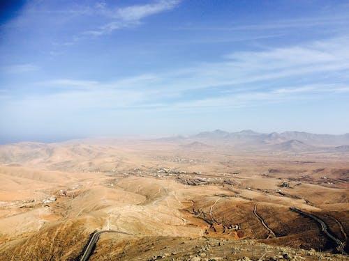 Vista Dall'alto Del Deserto