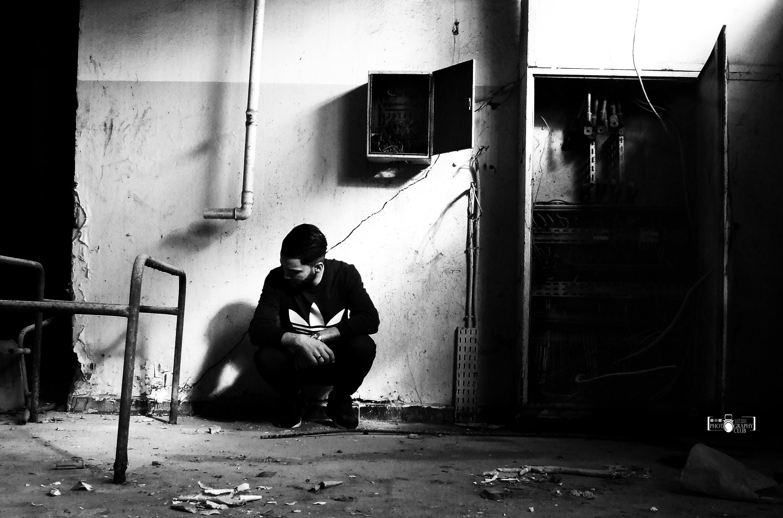 Free stock photo of abandoned, adult, black, black and white