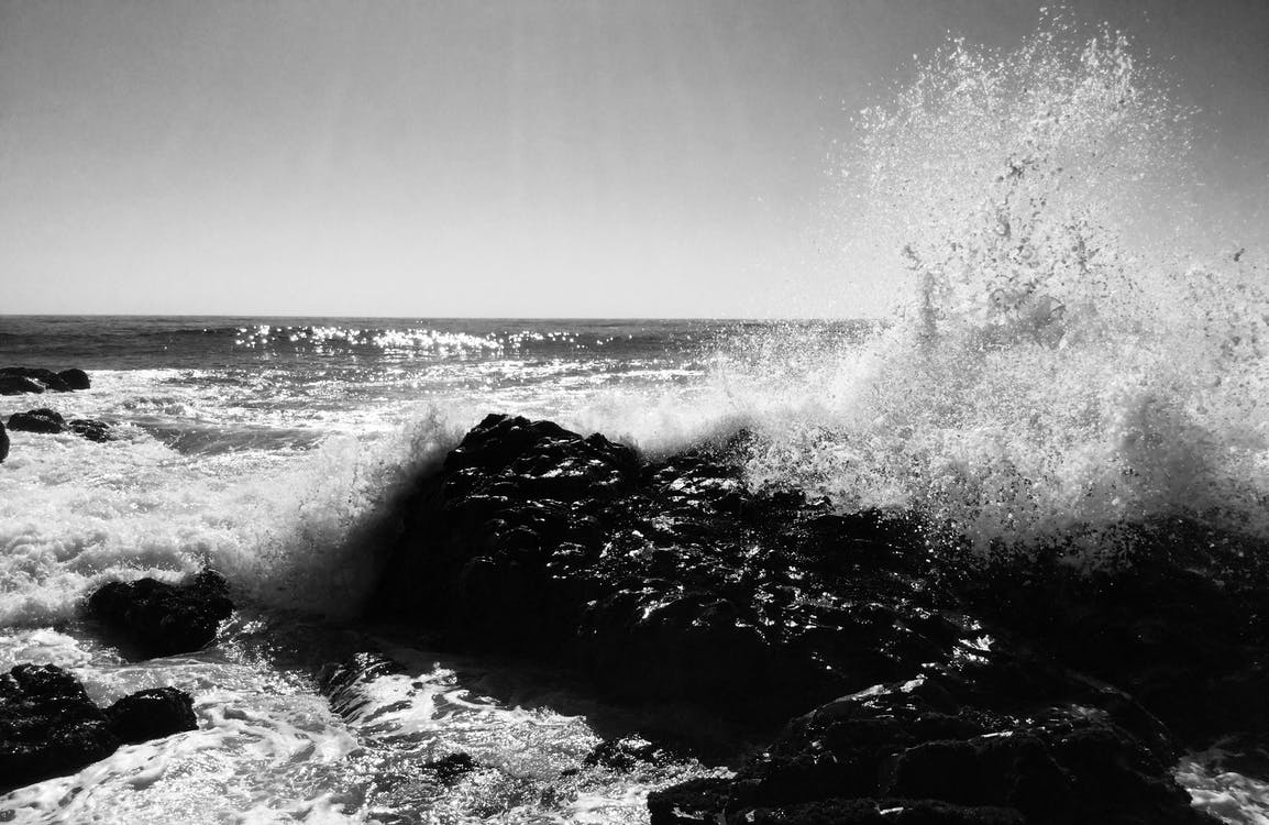 água, litoral, mar