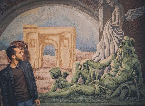 Бесплатное стоковое фото с городской, греция, Искусство, краска
