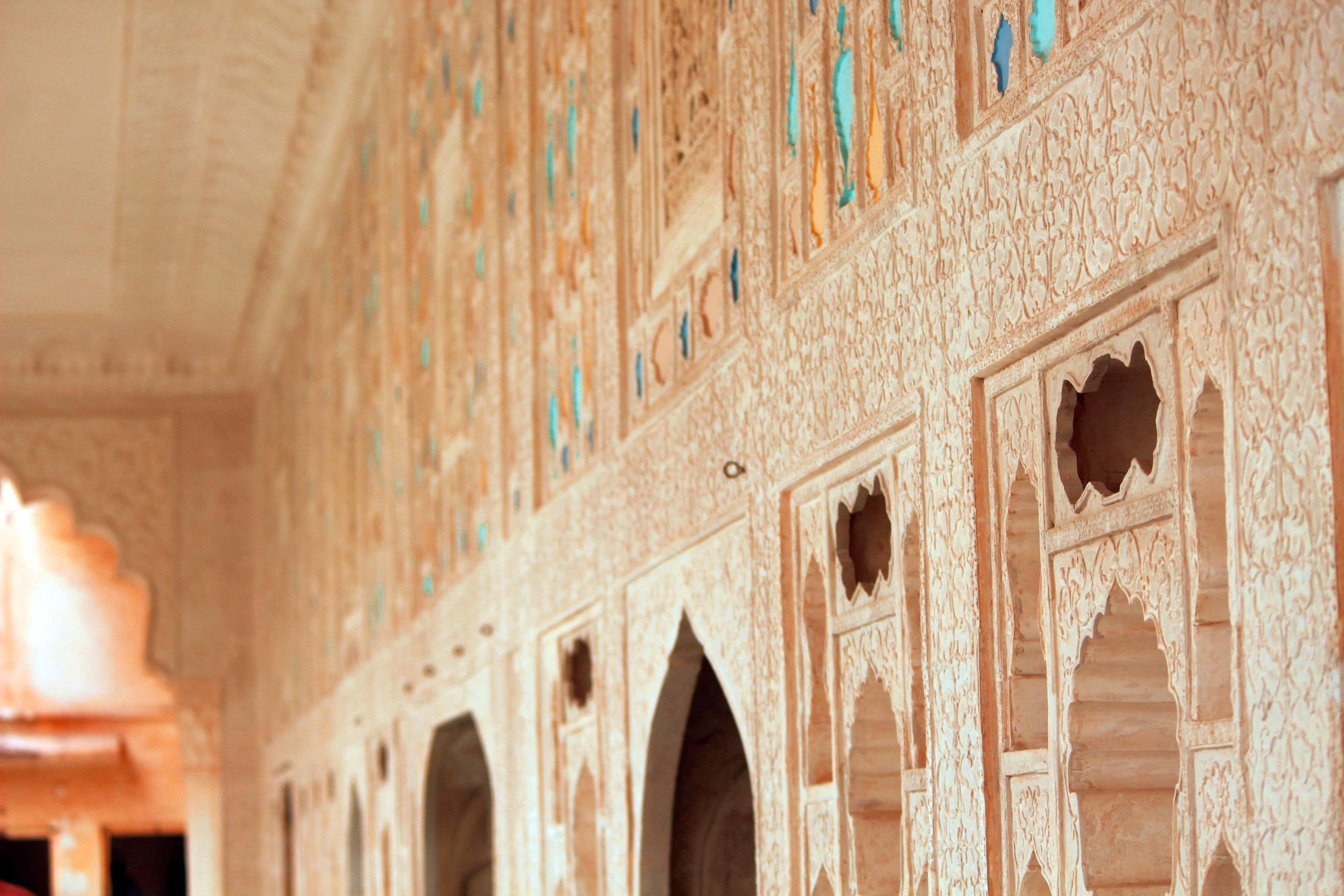 Free stock photo of fort, glass art, Glass work, shish mahal