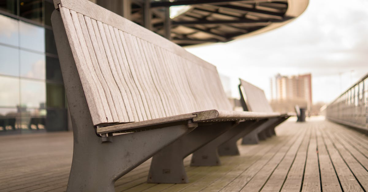 Free Stock Photo Of Bench City Perspective