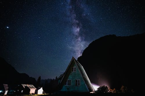 Houses and the Milky Way