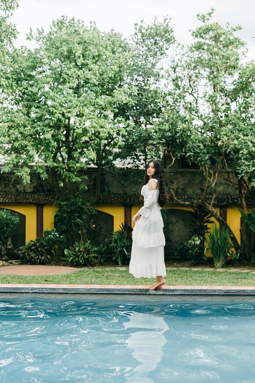 Foto profissional grátis de água, ao lado da piscina, aparência