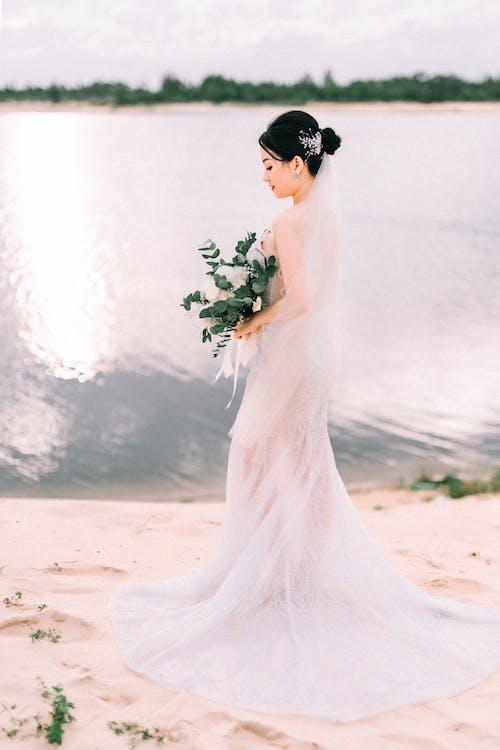 Foto profissional grátis de atraente, elegância, fotografia de casamento