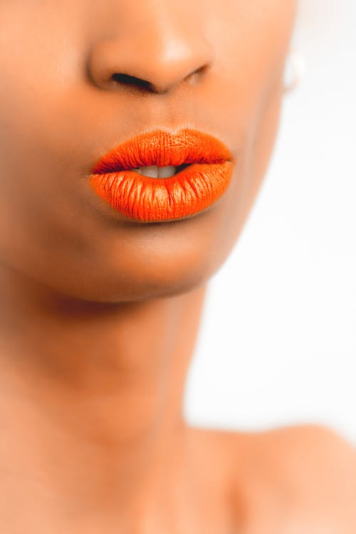 Women's Orange Lipstick