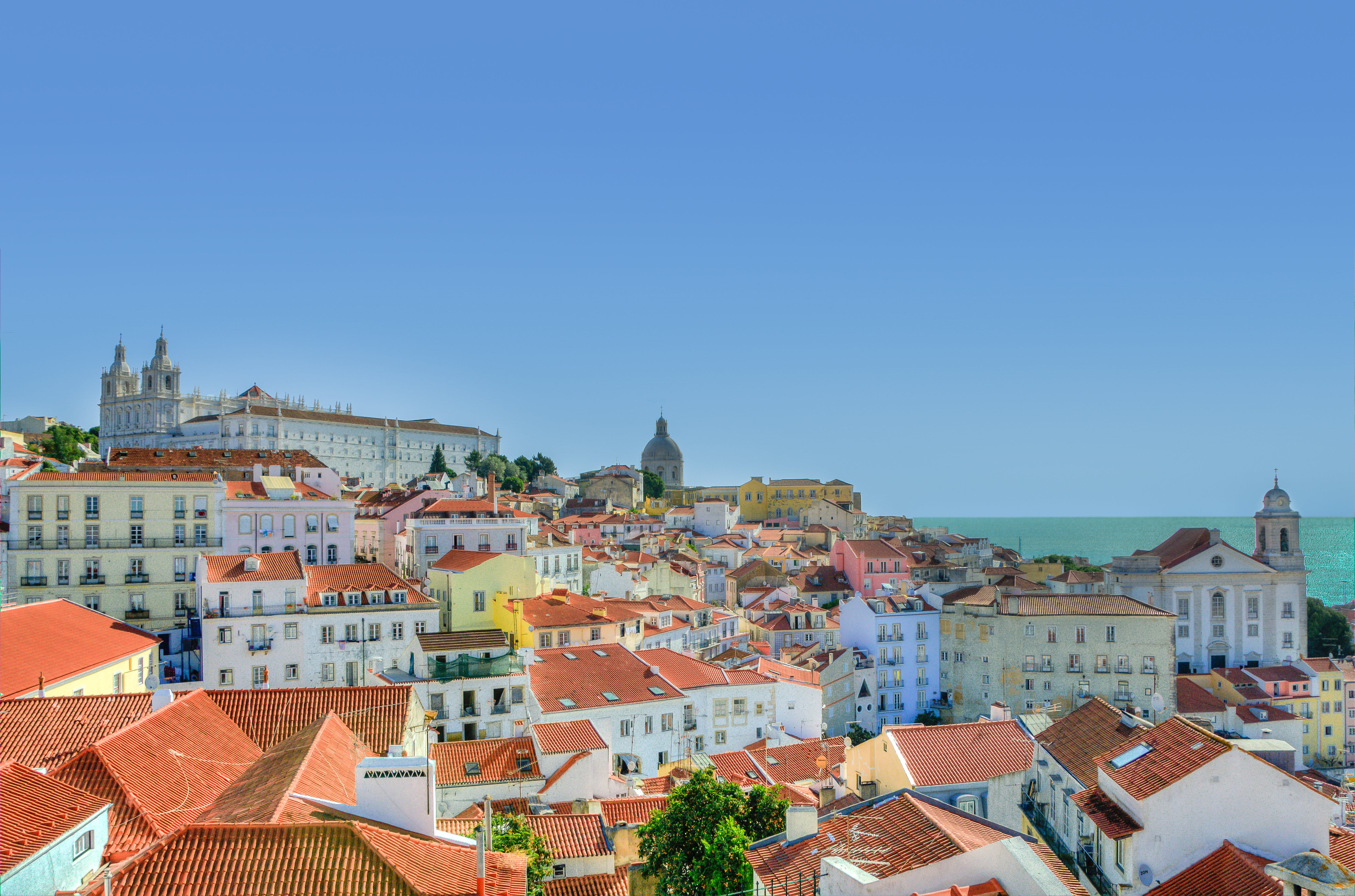 Free stock photo of city, houses, village, portugal