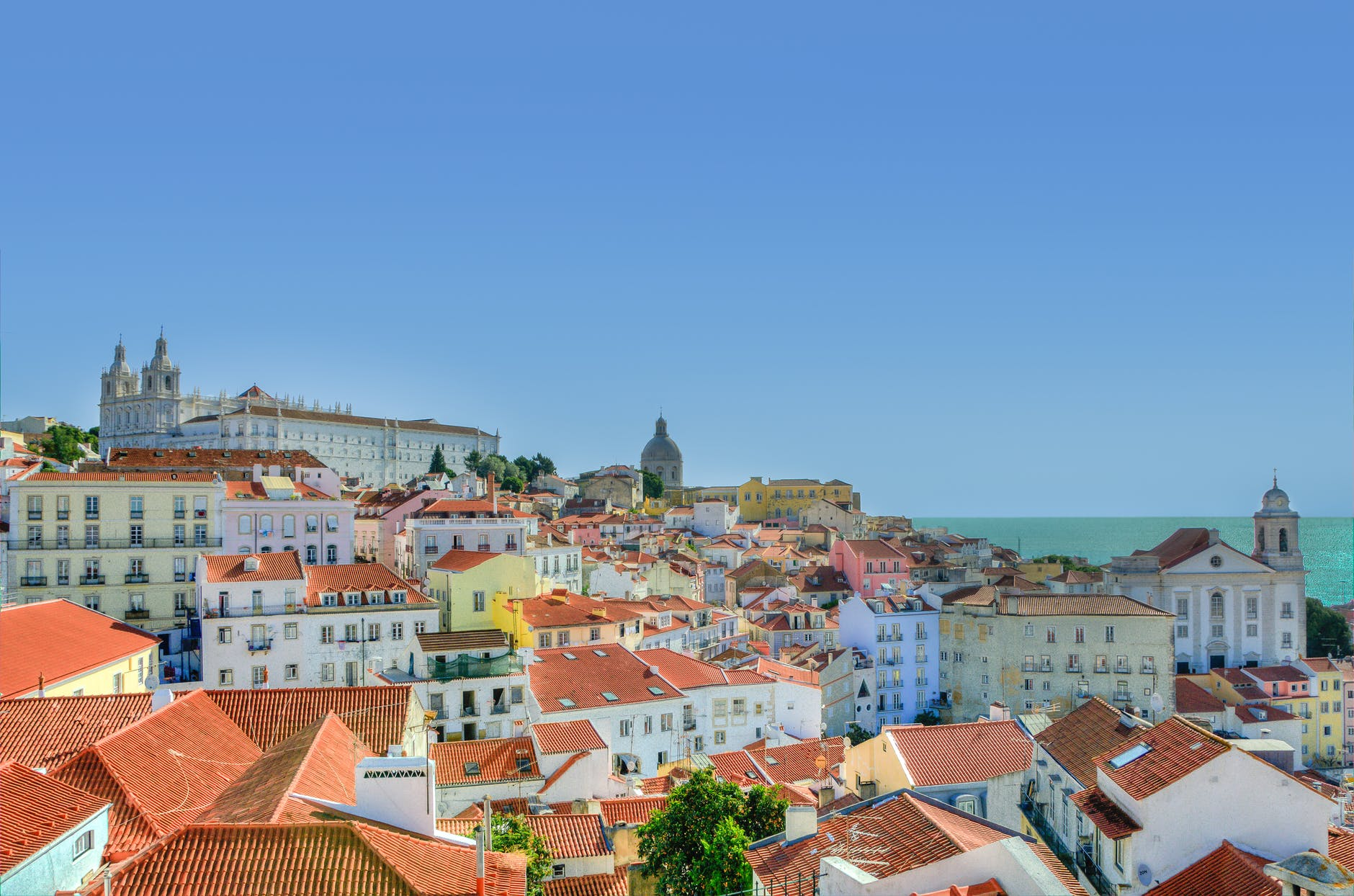 Beautiful houses at Portugal