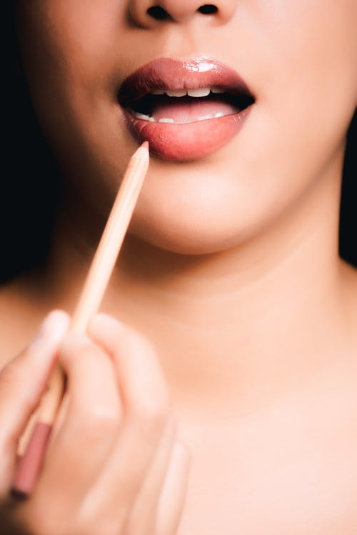Foto d'estoc gratuïta de bellesa, color carn, dama, dents
