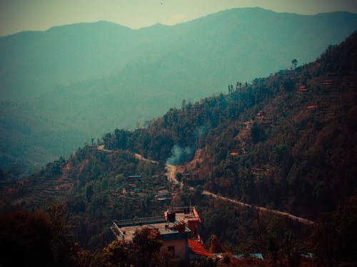 Free stock photo of hilly, mountains, nature, nepal