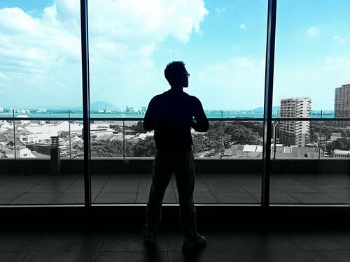Free stock photo of airport, blue, boy