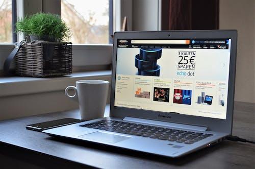 Free stock photo of Alexa, amazon, amazon echo, coffee
