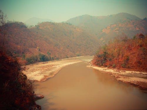 Free stock photo of lake side, nature, nepal