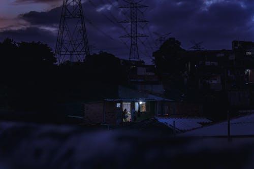 Fotos de stock gratuitas de anochecer, ciudad, combustible fósil