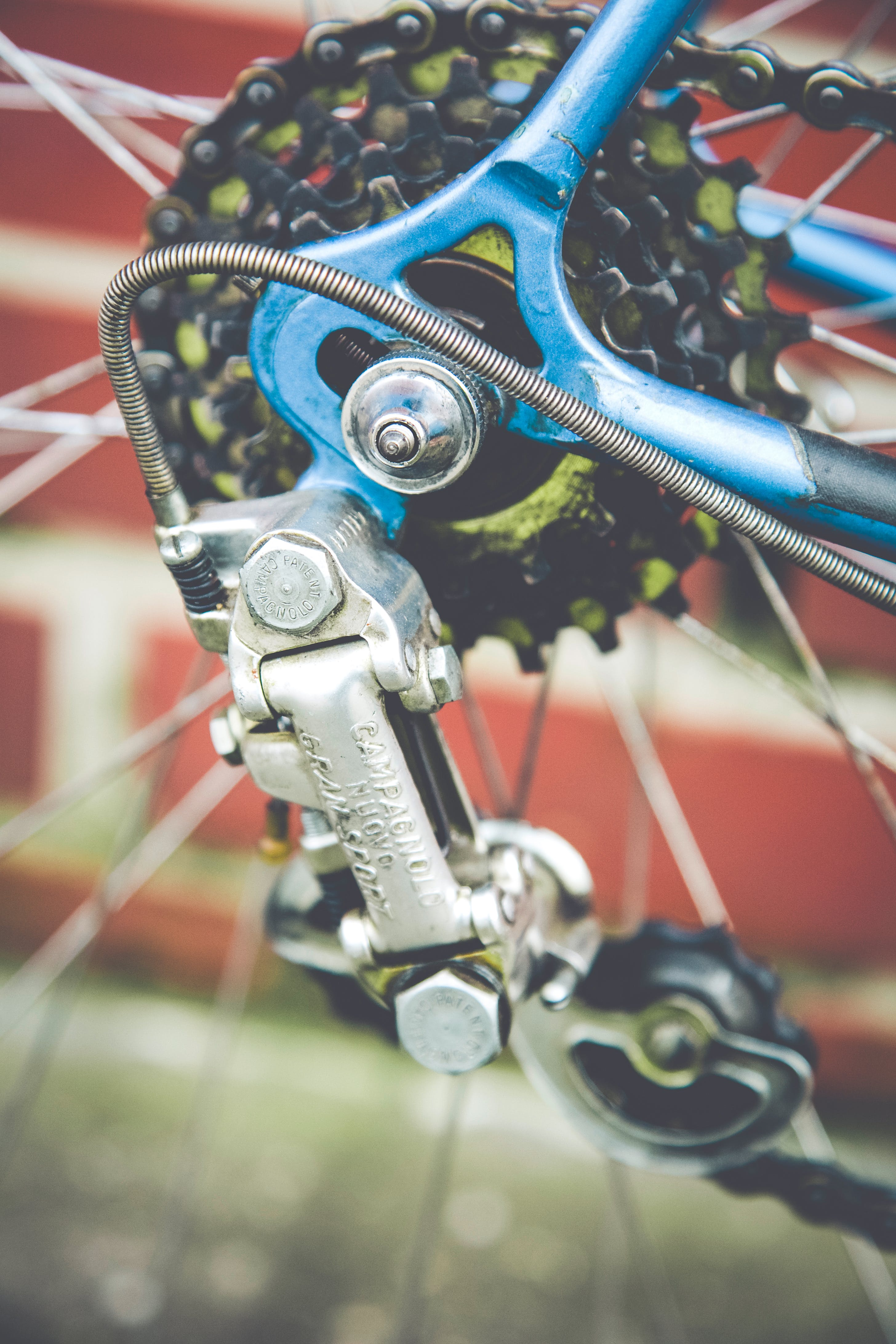 Free stock photo of bicycle, chrome, classic, clean