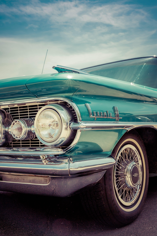 Foto d'estoc gratuïta de antic, clàssic, cotxe, defensa
