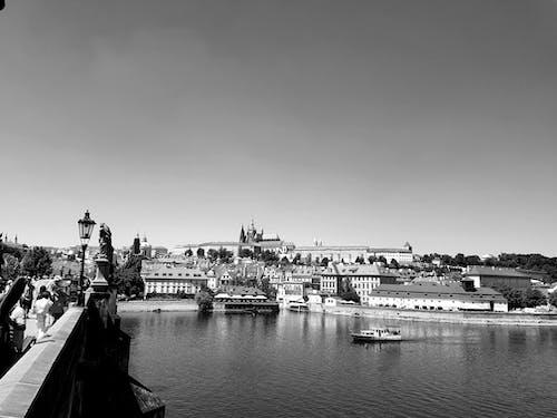 Imagine de stoc gratuită din alb, alb-negru, apă, atmosferă de vară