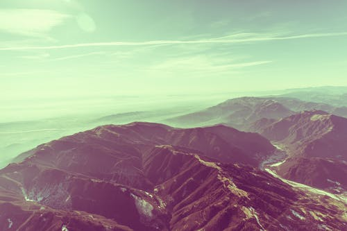 Free stock photo of hills, landscape, mountains, nature