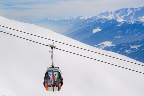 Black Cable Car