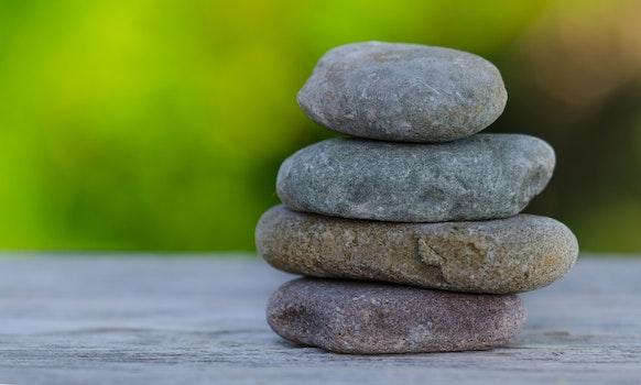 Kostenloses Stock Foto zu steine, kieselsteine, spa, wellness