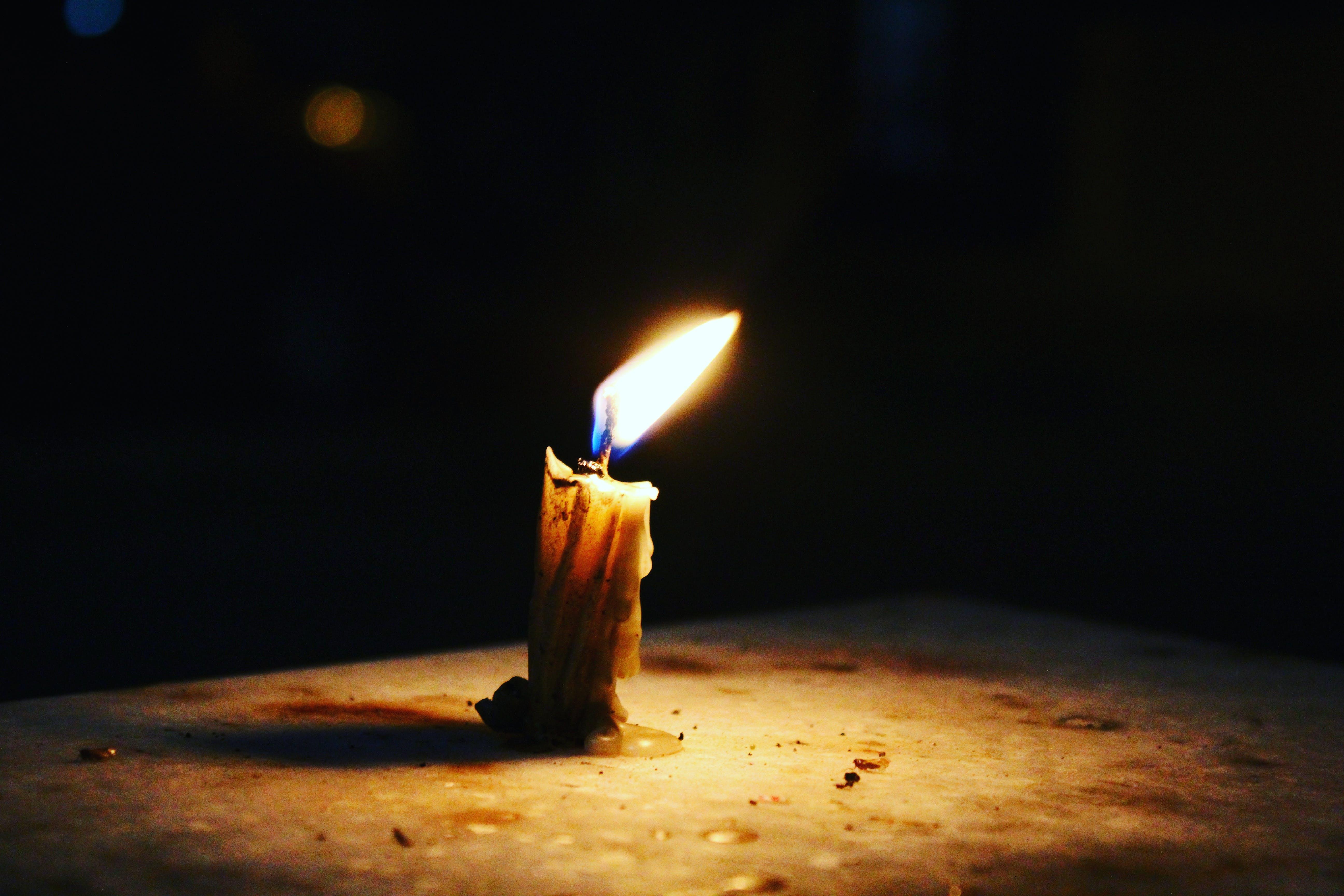 Gratis arkivbilde med #outdoorchallenge, flamme, stearinlys