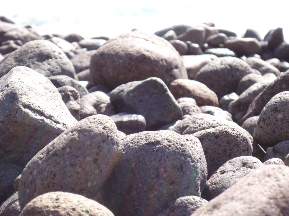 kivet, merenranta, meri