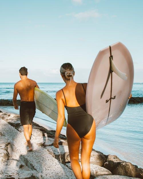 Photos gratuites de amusement, bikini, bord de mer