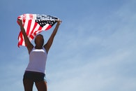 sky, woman, united states of america