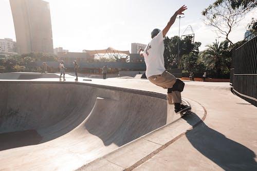Free stock photo of skate park, skateboarding