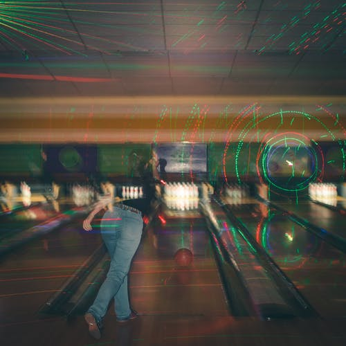 Free stock photo of airport, blur, bowling alley