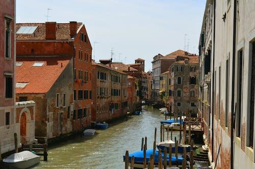 Photos gratuites de bateaux, canal, europe, italie